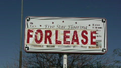 For lease Stock Footage