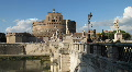 Castel Sant'Angelo. Rome. HD Footage