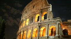 The Coliseum, Rome - stock footage