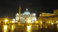 Saint Peter Square, Rome HD Footage