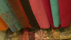Silk products Stock Footage