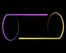 VJFader neon-pingpong-3 PAL - stock footage