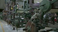 Korat silk weavers Stock Footage