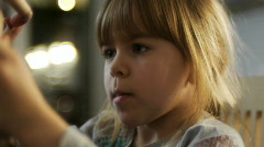 Child with dolls Stock Footage