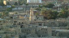 Al - Qasr, Dakhla Oasis Egypt Stock Footage
