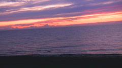 PURPLE SEA - stock footage