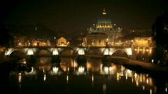 Vatican timelapse - stock footage