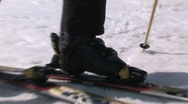 Stock Video Footage of Ski shoe