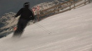 Stock Video Footage of Ski move
