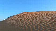 Sand dune - stock footage