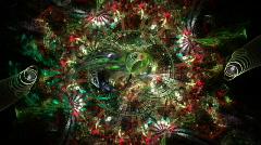 Christmas wreath Stock Footage