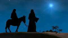Bethlehem Christmas Stock Footage