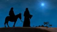 Stock Video Footage of Bethlehem Christmas