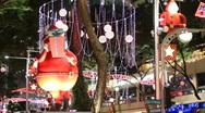 Christmas Lighting Stock Footage