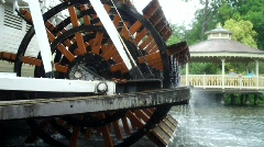 Paddle Wheel Boat (HD) Stock Footage