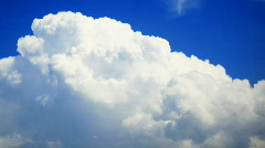 White Heaven clouds time lapse HD Stock Footage