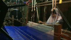 Handmade silk Stock Footage