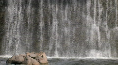 Waterfall series One - 8 of 15 - stock footage