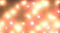 Blinking multi-colored Christmas garland lights  Stock Footage