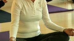 yoga montage HD - stock footage