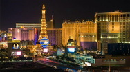 Las Vegas Strip - Night 480x270 Stock Footage