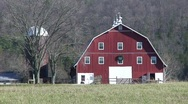 Red Barn Stock Footage