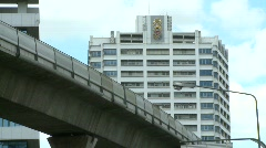 Bangkok skyrail  Stock Footage