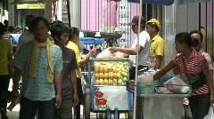 Bangkok pedestrians Stock Footage