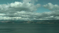 Time lapse of Baikal lake Stock Footage