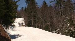 Snowshoe Mountain Time Lapse Stock Footage