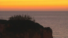 Beirut the Rock Sunset - stock footage