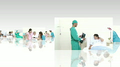 Medical scene Stock Footage