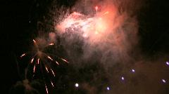 Fireworks HD #3 - stock footage