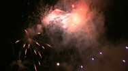 Stock Video Footage of Fireworks HD #3
