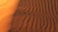 Multi-Colored Sand Dunes Stock Footage