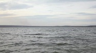 Stock Video Footage of Waves on the lake