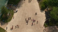 Overhead View of People Stock Footage