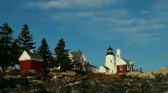Maine Lighthouse - stock footage
