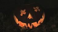 Stock Video Footage of Halloween pumpkin.