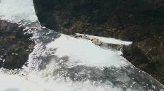 Ice Bridge Creek Stock Footage