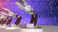 444 manufacturing technology robots Stock Footage