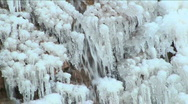 Ice Crystal Clusters Stock Footage