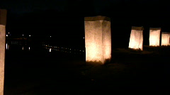 Luminaries Stock Footage