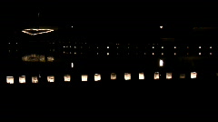Luminaries and heart02 Stock Footage