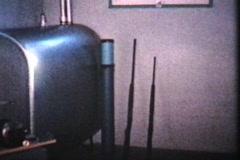 New Workshop And Pantry (1963 - Vintage 8mm film) Stock Footage