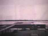 Stock Video Footage of Visiting The Airport (1963 - Vintage 8mm film)