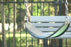 Children's Swing Stock Footage