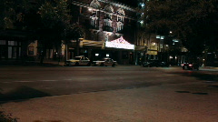 Paramount Theatre Austin, Texas Stock Footage