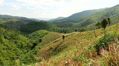 Thailand: Mountain View Stock Footage