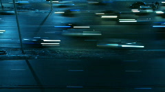 Stock Video Footage of Moscow Traffic